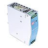 Mean Well NDR Switch Mode DIN Rail Power Supply with Overvoltage and Short Circuit Protection 90 → 264V ac Input