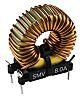 Roxburgh EMC 90 μH Ferrite Toroidal Inductor, 8A Idc, 25mΩ Rdc, SMV