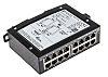 Harting Ethernet Switch, 16 RJ45 port, 24 V