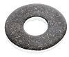 Bright Zinc Plated Steel Plain Washer, 2.5mm Thickness,