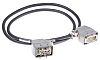 Han E Right Angle Cable Assembly, Female to