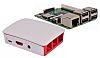 Raspberry Pi 3 Model B with White Case