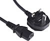 RS PRO 3m Power Cable, LSZH C13, IEC