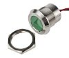 RS PRO Green Indicator, 12 V dc, 22mm