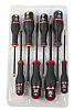 Facom Engineers Phillips, Pozidriv, Slotted Screwdriver Set 8