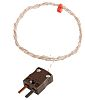RS PRO Type T Thermocouple 1m Length, 1/0.3mm