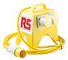 RS PRO Splitter Box, 110 (55-0-55)V