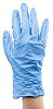RS PRO Blue Nitrile Disposable Gloves size 7.5