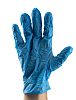 RS PRO Blue Nitrile Gloves size 9.5 -