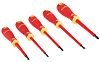 Bahco VDE Phillips, Slotted Screwdriver Set 5 Piece