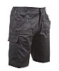 RS PRO Black Unisex's Polycotton Shorts Waist Size