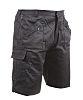 RS PRO Black Unisex's Polycotton Shorts Waist Size