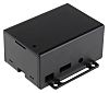 Pi Supply Polycarbonate Case for use with Raspberry Pi and PoE HAT in Black