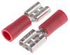 RS PRO Red Insulated Crimp Receptacle, 6.35 x
