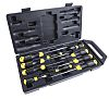 Stanley Engineers Flared, Parallel, Pozidriv Screwdriver Set 10