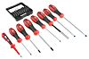RS PRO Standard Hexagon, Phillips, Pozidriv, Slotted, Torx