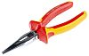 RS PRO 160 mm Steel Long Nose Pliers