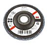 3M Zirconia Aluminium Flap Disc, 125mm, P80 Grit