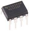 MC1458P Texas Instruments, Op Amp, 1MHz, 8-Pin PDIP
