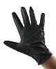 Ansell Black Nitrile Disposable Gloves size 9 -