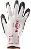 Ansell HyFlex, White Polyurethane Coated Work Gloves, Size