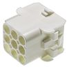 TE Connectivity, Universal MATE-N-LOK Female Connector Housing, 6.35mm Pitch, 9 Way, 3 Row