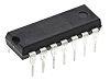 Microcontrôleur, 8bit, 256 B RAM, 4 Ko, 20MHz, , DIP 14, série ATtiny44