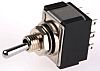 KNITTER-SWITCH Three Pole Double Throw (3PDT) Toggle Switch,