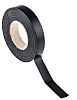 RS PRO Black PVC Electrical Tape, 12mm x