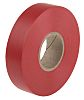 RS PRO Red Electrical Tape, 19mm x 33m