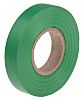 RS PRO Green PVC Electrical Tape, 12mm x