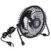 RS PRO Desk Fan 100mm blade diameter 1