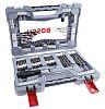 Bosch 105 piece Masonry Twist Drill Bit Set,
