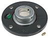 4 Hole Flanged Bearing Unit, PME35-XL-N, 35mm ID