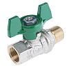 RS PRO Brass Manual Ball Valve 2 Way