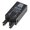 RS PRO 2 Pin Relay Socket, Plug In,