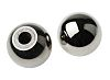 RS PRO Silver Ball Clamping Knob, M4