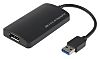 RS PRO USB A to DisplayPort Adapter, USB 3.0  - up to 4K