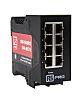 RS PRO Ethernet Switch, 8 RJ45 port, 10/100Mbit/s Transmission Speed, DIN Rail Mount