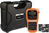 Brother PTE110VP Handheld Label Printer Kit With QWERTY