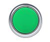 RS PRO Non-illuminated Green Flush Push Button Complete