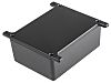 RS PRO Black Die Cast Aluminium Alloy Enclosure,