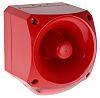 Klaxon PNC Sounder Beacon 113dB, Red LED, 10