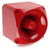 Klaxon PNC Sounder Beacon 120dB, Red LED, 10
