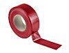RS PRO Gloss Red Cloth Tape, 50mm x