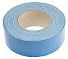 RS PRO Gloss Blue Cloth Tape, 50mm x