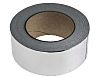RS PRO Aluminium Tape 0.08mm, W.50mm, L.45m