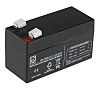 Lead Acid Rechargeable Battery - 12V, 1.2Ah