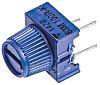 100Ω, Through Hole Trimmer Potentiometer 0.5W Top Adjust