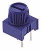 1kΩ, Through Hole Trimmer Potentiometer 0.5W Top Adjust